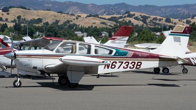 N6733B - Beechcraft F33A Bonanza - Private