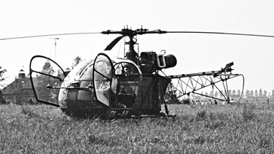 OL-A11 - Sud-Est SE.3130 Alouette II - Belgium - Army