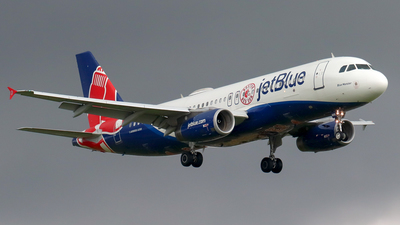A picture of N605JB - Airbus A320232 - JetBlue Airways - © Kenneth Mora Flores KMF777