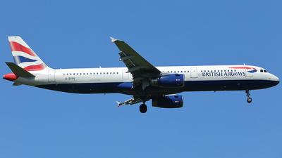 G-EUXG - Airbus A321-231 - British Airways
