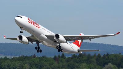HB-JHJ - Airbus A330-343 - Swiss