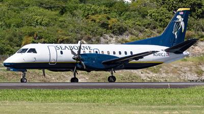 A picture of N341CJ - Saab 340B - Seaborne - © Martin Rogosz