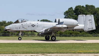 78-0701 - Fairchild A-10C Thunderbolt II - United States - US Air Force (USAF)