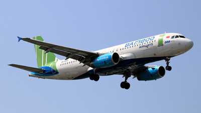 A picture of VNA583 - Airbus A320232 - Bamboo Airways - © photogiap