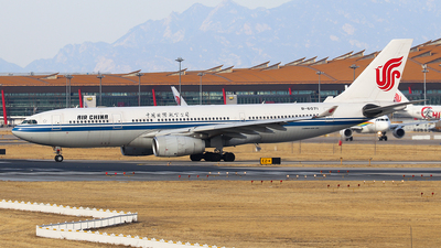 A picture of B6071 - Airbus A330243 - Air China - © Jerry.H
