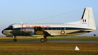 A10-604 - Hawker Siddeley HS-748 Series 2A - Australia - Royal Australian Air Force (RAAF)