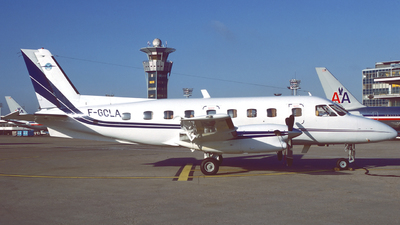 F-GCLA - Embraer EMB-110P1 Bandeirante - Aigle Azur