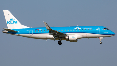PH-EXZ - Embraer 170-200STD - KLM Cityhopper