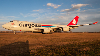 A picture of LXRCV - Boeing 7474R7(F) - Cargolux - © Viktor László - Budapest Aviation Photography