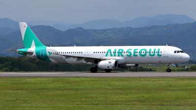 HL8281 - Airbus A321-231 - Air Seoul