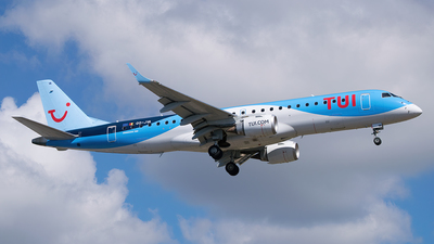 A picture of OOJVA - Embraer E190STD - TUI fly - © Saúl Alonso