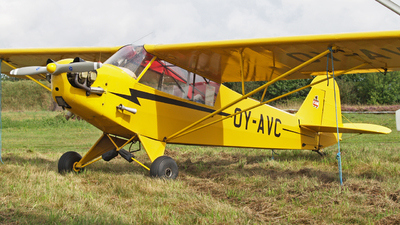 OY-AVC - Piper J-3C-65 Cub - Private