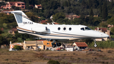 A picture of OMTAA - Beech 390 Premier I -  - © James Dinsdale