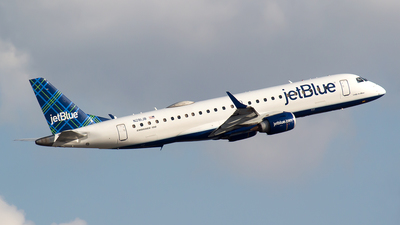A picture of N281JB - Embraer E190AR - JetBlue Airways - © Bora Polater
