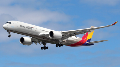A picture of HL7771 - Airbus A350941 - Asiana Airlines - © Huy Do