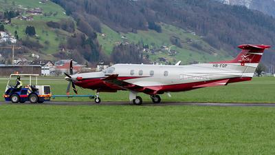 HB-FQP - Pilatus PC-12/47E - Pilatus Aircraft