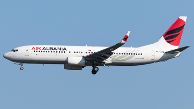 TC-JZG - Boeing 737-8F2 - Air Albania (Turkish Airlines)
