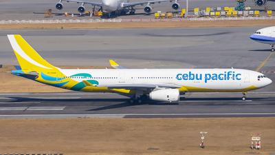 RP-C3348 - Airbus A330-343 - Cebu Pacific Air