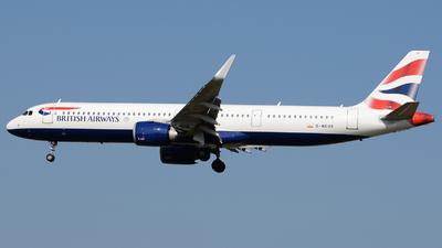 G-NEOR - Airbus A321-251NX - British Airways