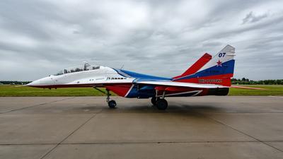 RF-91944 - Mikoyan-Gurevich MiG-29UB Fulcrum - Russia - Air Force