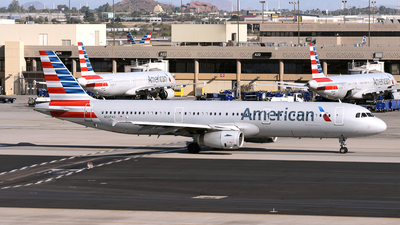 A picture of N508AY - Airbus A321231 - American Airlines - © DJ Reed - OPShots Photo Team