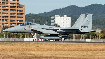 02-8801 - McDonnell Douglas F-15J Eagle - Japan - Air Self Defence Force (JASDF)