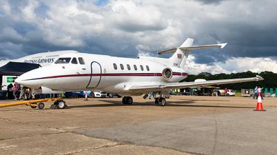 ZE395 - British Aerospace BAe 125 CC.3 - United Kingdom - Royal Air Force (RAF)