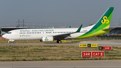 JA05GR - Boeing 737-8AL - Spring Airlines Japan