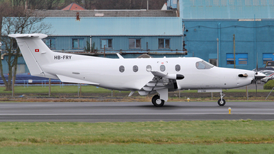 A picture of HBFRY - Pilatus PC12/47E -  - © Ian Howat