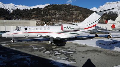 A picture of N27UB - Cessna 525B CitationJet CJ3 - [525B0225] - © Peter Unmuth