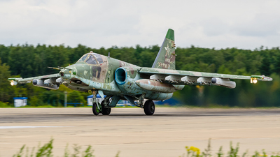 RF-93025 - Sukhoi Su-25SM Frogfoot - Russia - Air Force