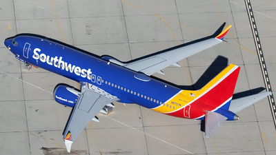 A picture of N8727M - Boeing 737 MAX 8 - Southwest Airlines - © Alejandro Hndez