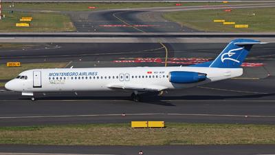 A picture of 4OAOP - Fokker 100 - Montenegro Airlines - © Tjorve Henzler