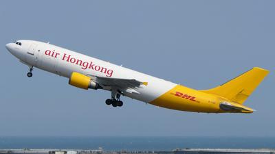 A picture of BLDE - Airbus A300F4605R - Air Hong Kong - © BiggyHsia