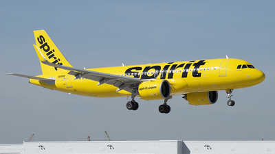 A picture of N918NK - Airbus A320271N - Spirit Airlines - © Juan Camilo Rojas