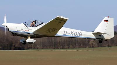 D-KOIG - Scheibe SF.25C-TL Rotax-Falke - Fliegergruppe Donzdorf