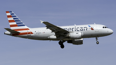 A picture of N762US - Airbus A319112 - American Airlines - © Kerrigan_Aviation_NJ