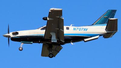 N707AV - Socata TBM-700 - Private