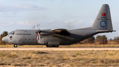 61-0963 - Lockheed C-130B Hercules - Turkey - Air Force