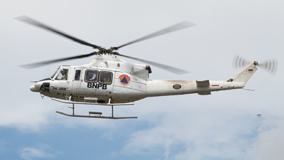 PK-URB - Bell 412EP - BNPB - Indonesian National Board for Disaster Management