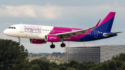 A picture of HALWR - Airbus A320232 - Wizz Air - © Krizsik Máté