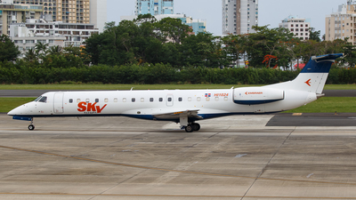 A picture of HI1024 - Embraer ERJ145MP - Sky High Aviation Services - © Hector Rivera - Puerto Rico Spotter