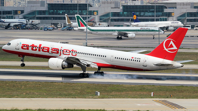 TC-ETE - Boeing 757-2Q8 - AtlasJet
