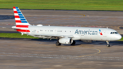 A picture of N509AY - Airbus A321231 - American Airlines - © Albany_Airspace