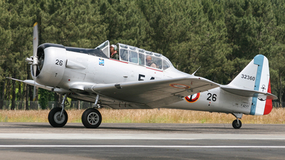 F-AZYT - North American T-6 Harvard - Private