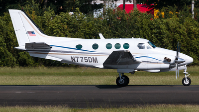 N775DM - Beechcraft C90 King Air - Private