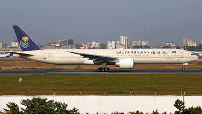 A picture of HZAK17 - Boeing 777368(ER) - Saudia - © Raihan Ahmed