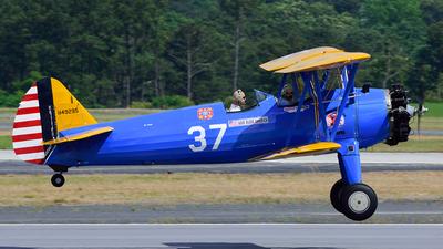 A picture of N49295 - BoeingStearman Model 75 - [75531] - © Agustin Anaya
