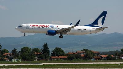 TC-SAH - Boeing 737-8FH - AnadoluJet