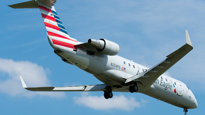 N254PS - Bombardier CRJ-200ER - American Eagle (PSA Airlines)